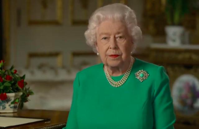See Queen Elizabeth's Address to British Public – WWD